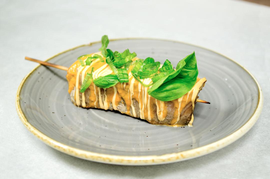 Tapa con la que el Restaurante Don José participa en la Ruta de la Tapa de Torrejón 2018. Se podrá degustar únicamente en la cafetería del Hotel Aida.