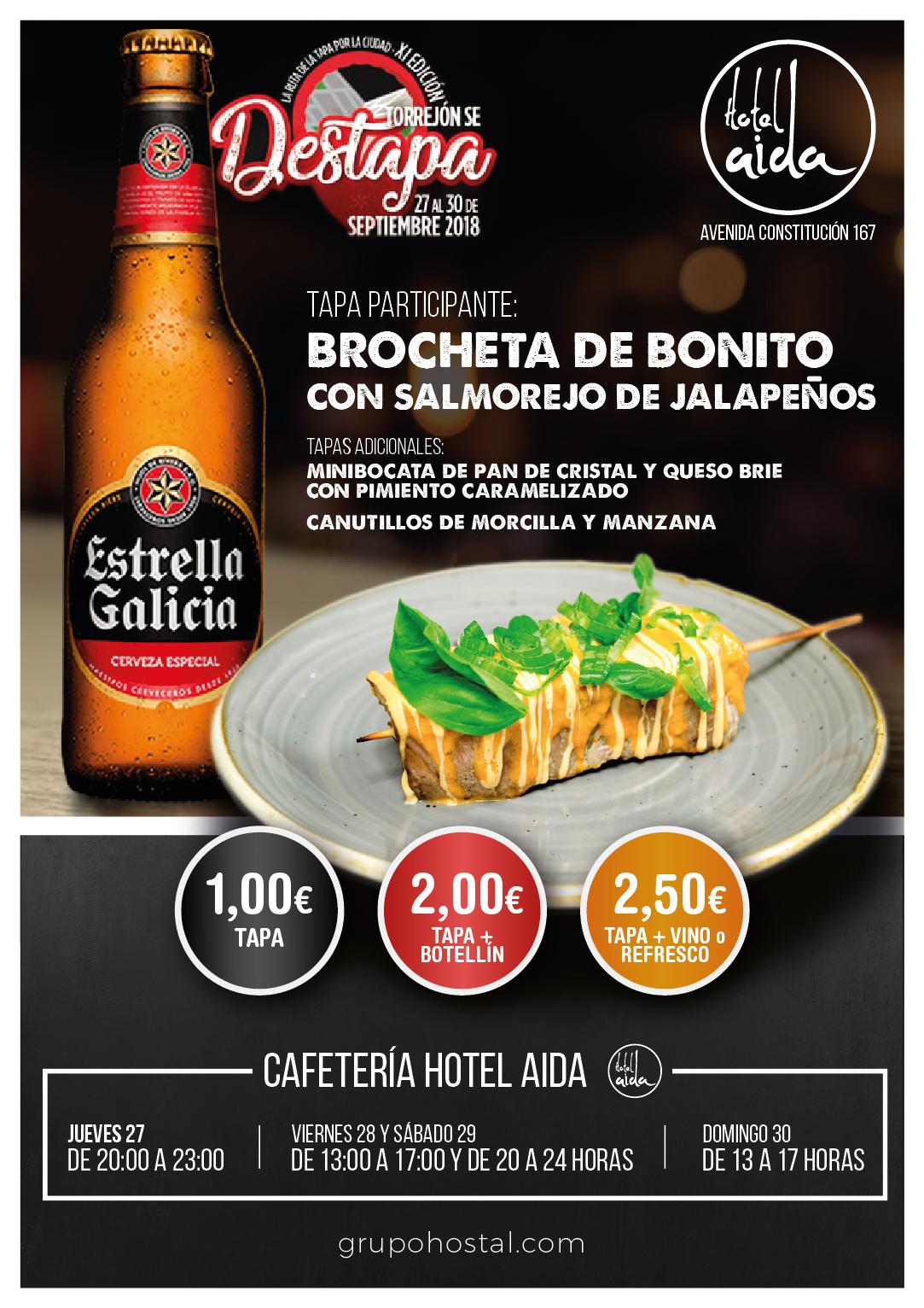 Feria de la Tapa 2018 Torrejón de Ardoz en el Hotel Aida